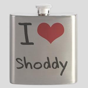 I Love Shoddy Flask