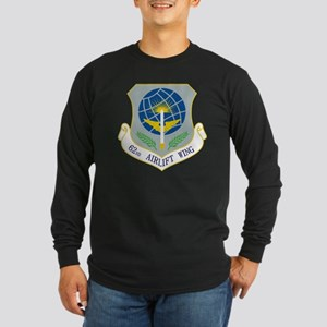 62nd Airlift Wing Long Sleeve Dark T-Shirt