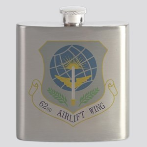 62nd Airlift Wing Flask