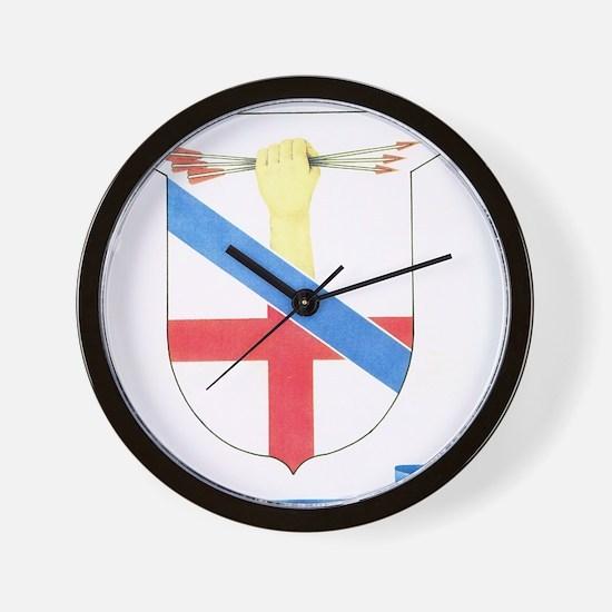 donatelli fam festival tshirt Wall Clock