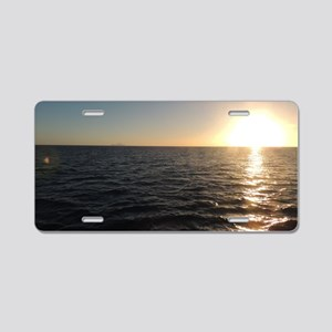Sunset Clear Night from the Aluminum License Plate