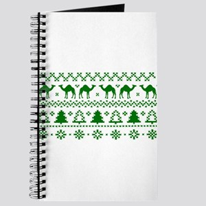 Christmas Hump Day Camel Ugly Sweater Journal