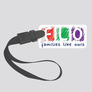Families Like Ours Logo Small Luggage Tag