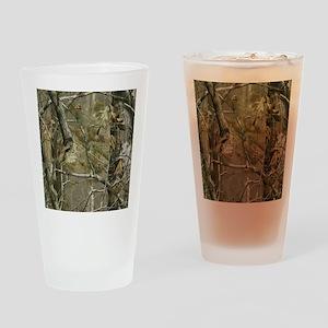 Realtree Camo Drinking Glass