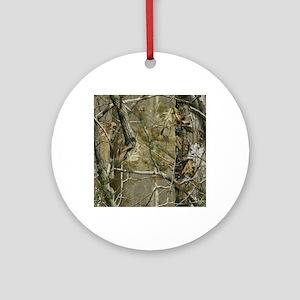 Realtree Camo Round Ornament
