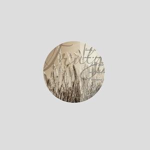 Grain of wheat Mini Button