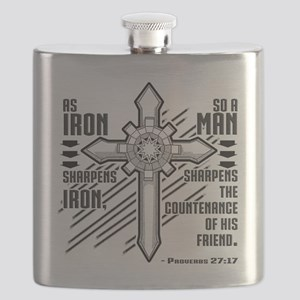 Iron Sharpens Iron Flask