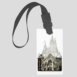 Sagrada Familia Large Luggage Tag