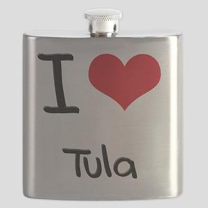 I Love TULA Flask