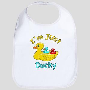 I'm Just Ducky Bib