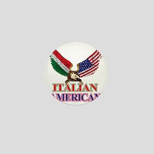 Italian American Mini Button