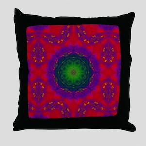 3D Kaliedescope Throw Pillow