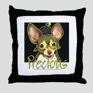 Bad Chihuahua Throw Pillow