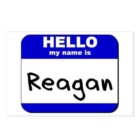 hello my name is reagan Postcards (Package of 8)