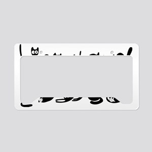 Cute cats License Plate Holder
