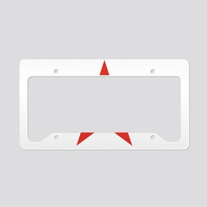 In Soviet Russia License Plate Holder