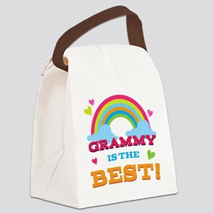 Grammy is the Best Canvas Lunch Bag