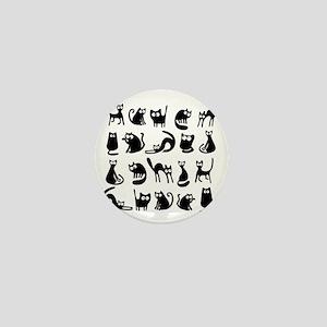 Funny cats Mini Button