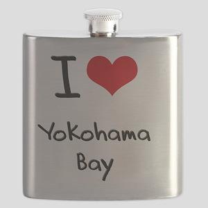 I Love YOKOHAMA BAY Flask