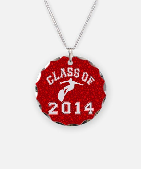Class Of 2014 Surfing Necklace