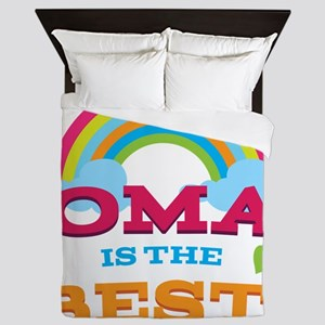 Oma Is The Best Queen Duvet