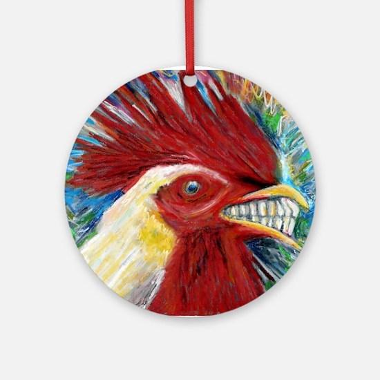 El Gallo de Cabo Round Ornament
