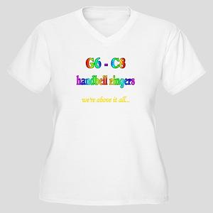 G6-C8 Women's Plus Size V-Neck T-Shirt