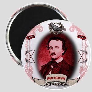 Edgar Allan Poe Raven Magnet