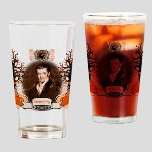 Washington Irving Sleepy Hollow Drinking Glass