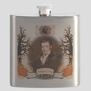 Washington Irving Sleepy Hollow Flask