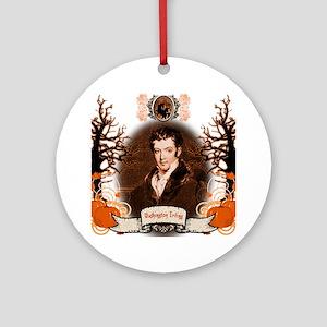 Washington Irving Sleepy Hollow Round Ornament