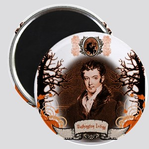 Washington Irving Sleepy Hollow Magnet