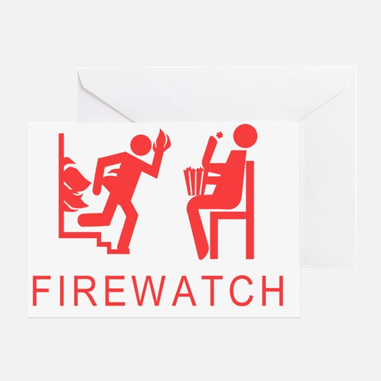 Firewatch Greeting Card