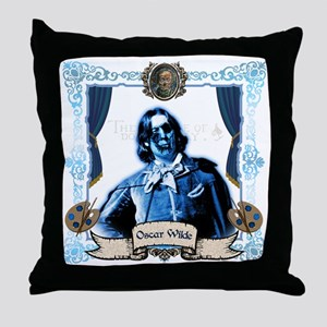 Oscar Wilde Dorian Gray Zombie Throw Pillow