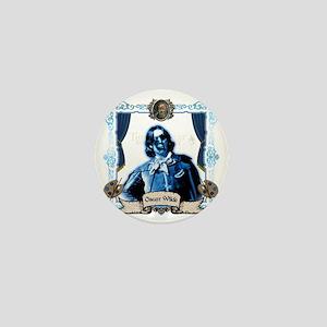 Oscar Wilde Dorian Gray Zombie Mini Button