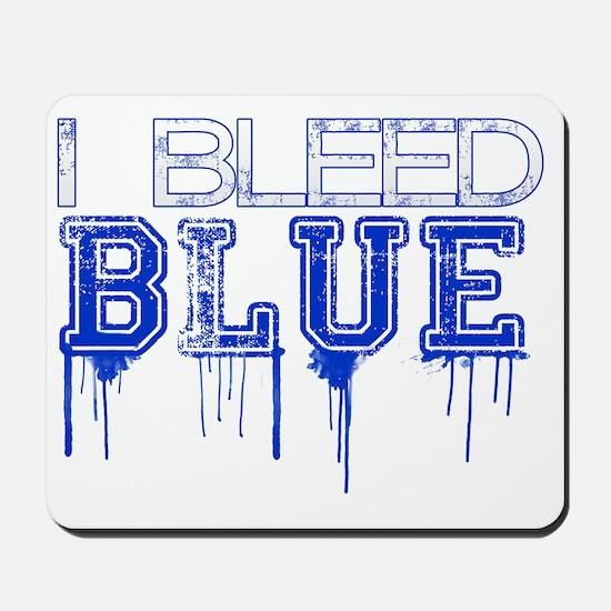 Bleed Blue Mousepad