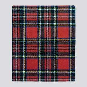 Royal Stewart Tartan Throw Blanket