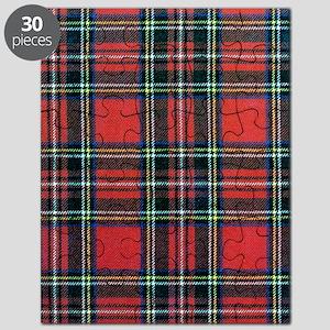 Royal Stewart Tartan Puzzle