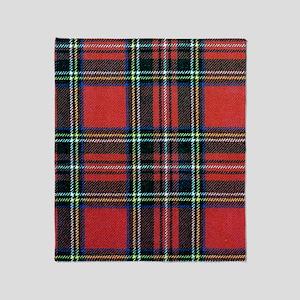 Royal Stewart Tartan Throw Blanket
