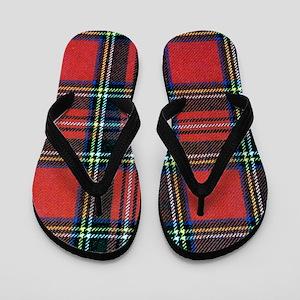 Royal Stewart Tartan Flip Flops