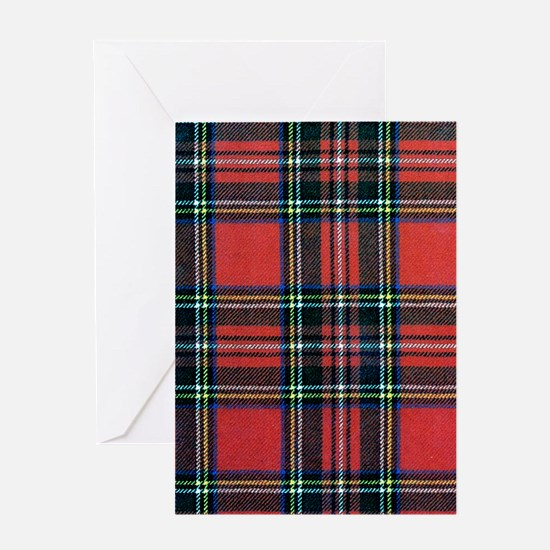 Royal Stewart Tartan Greeting Card
