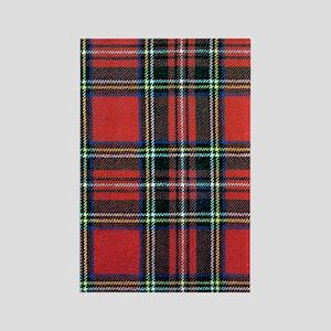 Royal Stewart Tartan Rectangle Magnet