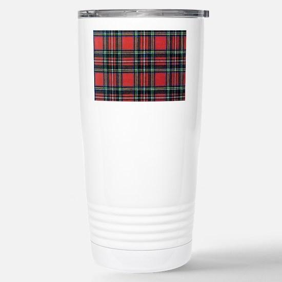 Royal Stewart Tartan2 Stainless Steel Travel Mug