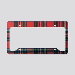 Royal Stewart Tartan2 License Plate Holder