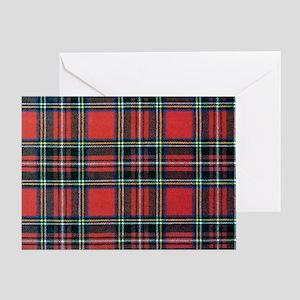 Royal Stewart Tartan2 Greeting Card