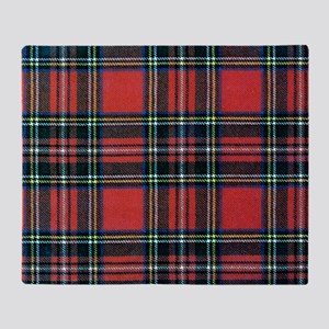 Royal Stewart Tartan2 Throw Blanket