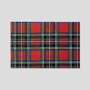 Royal Stewart Tartan2 Rectangle Magnet