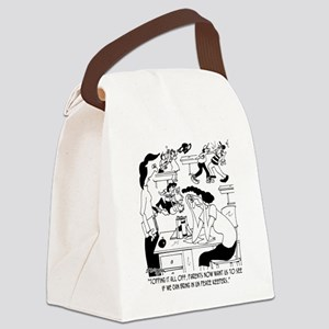 Bring in the UN Peace Keepers Canvas Lunch Bag