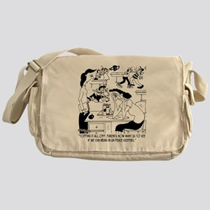 Bring in the UN Peace Keepers Messenger Bag