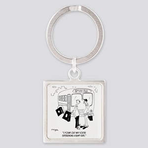 Why Youre Having a Bumpy Ride Square Keychain